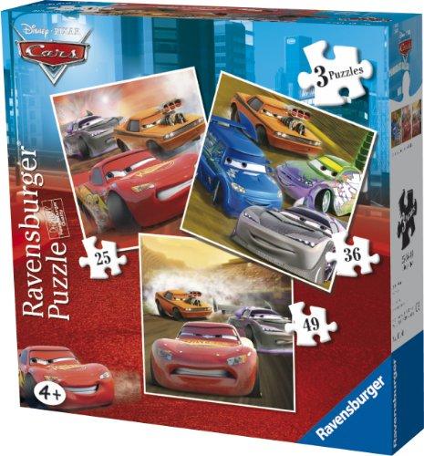 Ravensburger Disney Cars 3 In A Box Jigsaw Puzzles