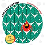 Charley Harper 2016 Sticker Wall Cale...