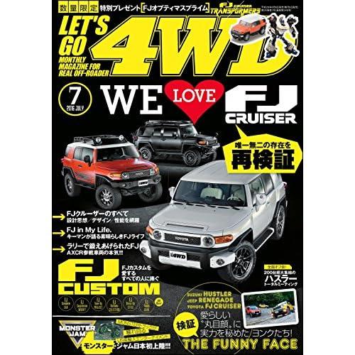 LET'S GO 4WD【レッツゴー4WD】2016年07月号 [雑誌]