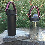 Hydro Flask Water Bottle Carrier - Americas #1 Paracord Handle Attaches to Almost Anything, Never Drop or Lose Your Bottles When Youre On-the-Go