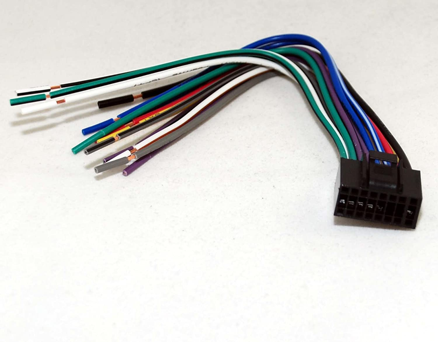Dual Car Stereo Wire Harness Dual 16 Pin Wire Harness