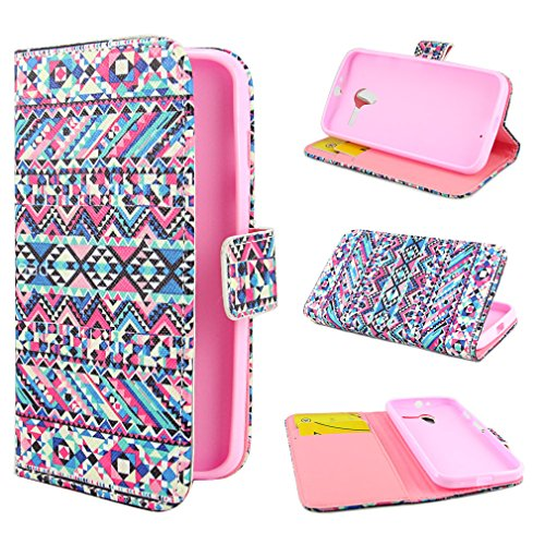 ivencase Painting Art Design Wallet PU Leather Stand Flip Case Cover For Motorola Moto X + One