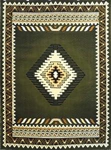 Amazon Com South West Native American Rug Green Design