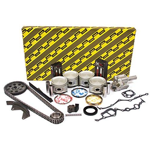 Engine Full Gasket Set Bearings Rings Fits 04-08 Mazda 6 3.0L V6 DOHC 24v