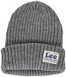 (リー)Lee ハイゲージ ニット帽 LA0135-102  グレー フリー