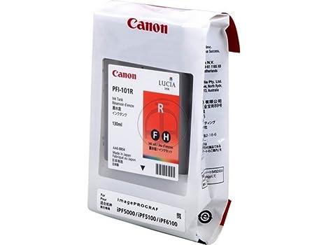 Canon Imageprograf IPF 5000 (PFI-101 R / 0889 B 001) - original - Ink cartridge red - 130ml