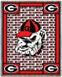 Univ of Georgia Go Dawgs - 69 x 48 Blanket/Throw - Georgia Bulldogs