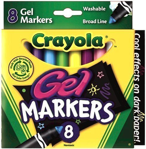 Crayola 8 Count Gel FX Washable Markers - 2 Packs - 1