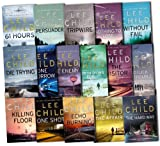 Lee Child Collection Jack Reacher Series 16 Books Set Pack RRP: £140.46 (Tripwire, The Visitor, Echo Burning, Without Fail, Persuader, The Enemy, One Shot, Bad Luck And Trouble, Killing Floor, Die Trying, The Hard Way, Nothing To Lose, Gone Tomorrow, 61