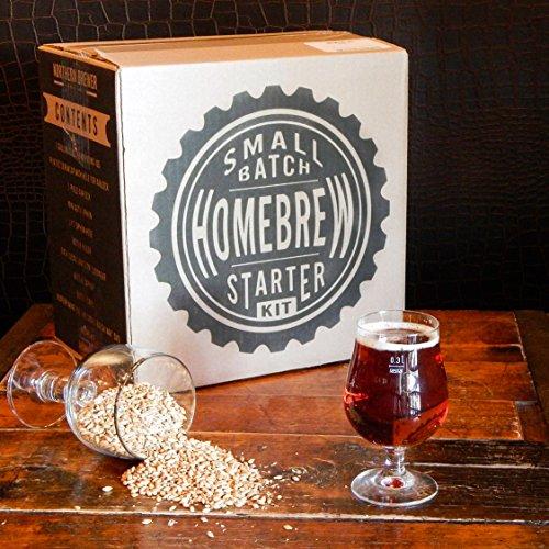 1 Gallon Small Batch Homebrew Beer Equipment Starter Kit with Plinian Legacy Double IPA Beer Recipe Kit (Brewer Starter Kit compare prices)