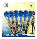 Toy Story Six Piece Fork & Spoon Set