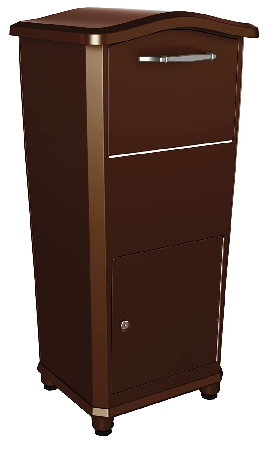 home mailboxes parcel drop box heavy duty mailbox package. Black Bedroom Furniture Sets. Home Design Ideas