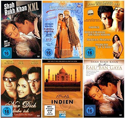 Nice Price Edition - BOLLYWOOD FAN PAKET 2 (9 Filme + 4 Dokumentationen ) [8 DVDs]