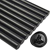 Glue Gun Sealing Wax Sticks - Black - Great for Wedding Invitations, Cards Envelopes, Snail Mails, Wine Packages, Gift Wrapping (Color: Black)