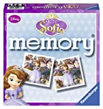 Ravensburger Sofia the First Mini Memory Game - 48 memory picture cards, making 24 picture pairs
