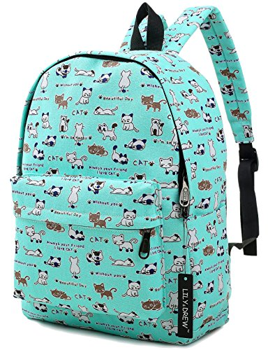 Lightweight-Canvas-Backpack-for-Women-Teens-and-Kids