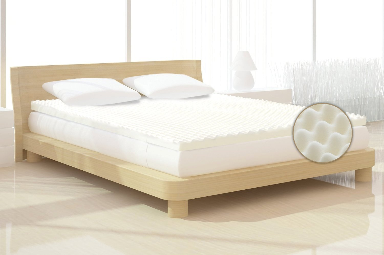 Milliard 2 Inch Egg Crate Ventilated Memory Foam Mattress Topper Queen Ebay