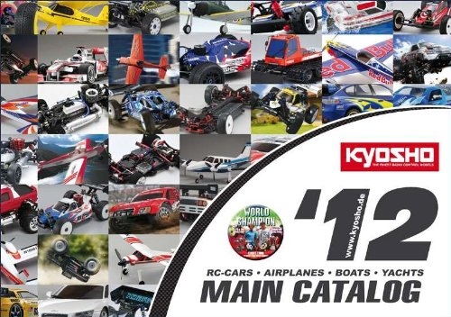 CO-2012E - Kyosho Hauptkatalog # 2012 englisch