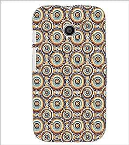 PrintDhaba Pattern D-5281 Back Case Cover for MOTOROLA MOTO E (Multi-Coloured)