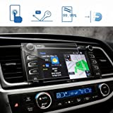 LFOTPP 2014-2018 Toyota Highlander LE Plus XLE Entune 8 Inch Car Navigation Screen Protector, [9H] Tempered Glass Infotainment Center Touch Screen Protector Anti Scratch High Clarity (Color: 2014-2018 Toyota Highlander LE Plus XLE Entune 8 Inch, Tamaño: 2015-2017 Toyota Highlander 8 Inch)