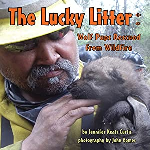 The Lucky Litter: Wolf Pups Rescued from Wildfire Audiobook
