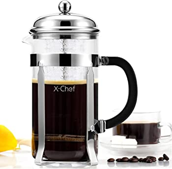 French Press X-Chef Coffee Press Tea Maker Pot