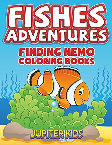 Fishes Adventures: Captain Nemo Coloring Books