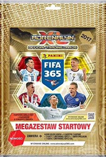Carte Panini FIFA 365 2017 Adrenalyn XL Trading Starter Pack