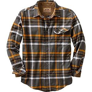 Legendary Whitetails Buck Camp Flannels Platinum Plaid X-Large Tall