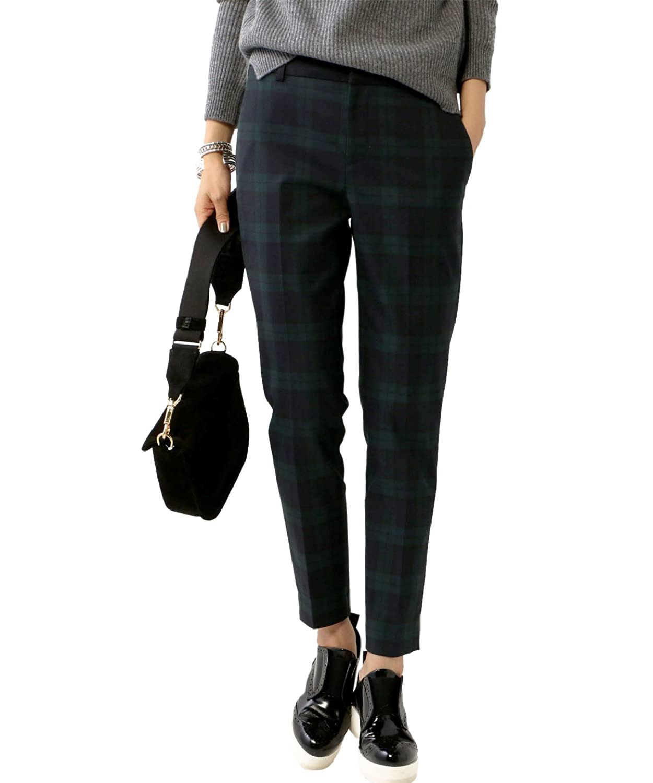 (ユナイテッドアローズ) UNITED ARROWS ○UWBT T/R CHECK 15142993914 79 Navy 36 : 服&ファッション小物通販 | Amazon.co.jp
