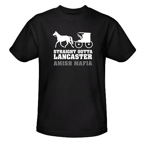 Amish Mafia Unisex Straight Outta Lancaster T-Shirt