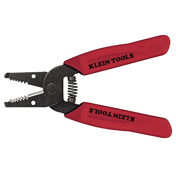 Wire Stripper/Cutter 16-26 AWG Stranded Klein Tools 11046 (Color: Red, Tamaño: Pack of 1)