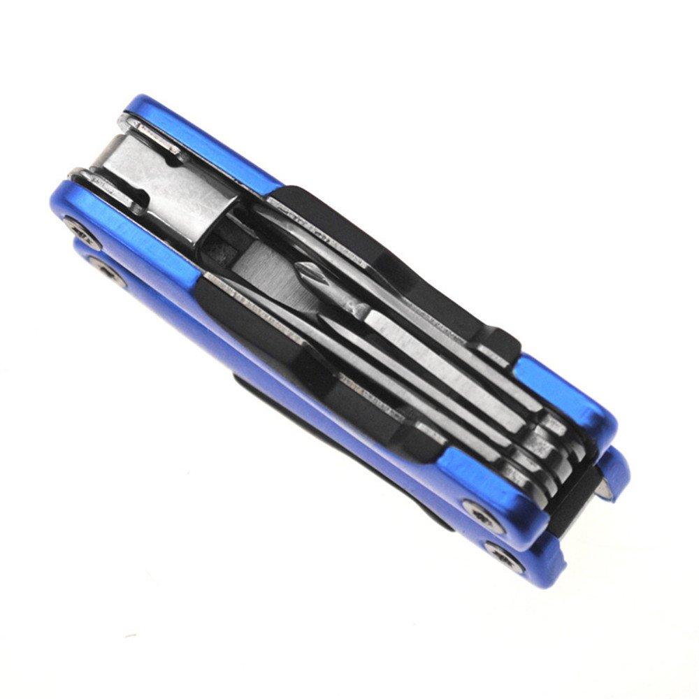 Multitool Pliers,Pocket Knife Set with Led Flashlight Mini Multi Tool Knife Kits