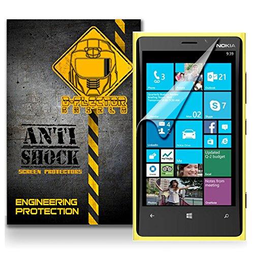 D-Flectorshield Nokia Lumia 630 Anti-Shock/Military Grade/ Tpu /Premium Screen Protector / Self Healing / Oleophobic Material / Ez Install / Ultra High Definition / Scratch Proof / Bubble Free Install / Precise Laser Cuts