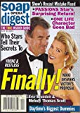 img - for Eric Braeden, Melody Thomas Scott, Young and the Restless, Daytime's Biggest Dummies - July 30, 2002 Soap Opera Digest Magazine book / textbook / text book