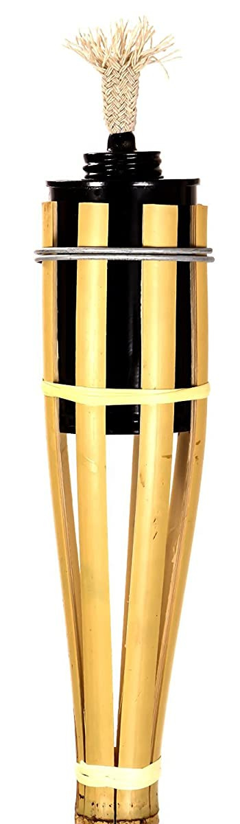 Torches Tiki-Style Metal Oil Canister