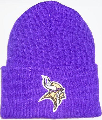 Minnesota Vikings Classic Purple Cuffed NFL Beanie Cap (Vikings Stocking Cap compare prices)