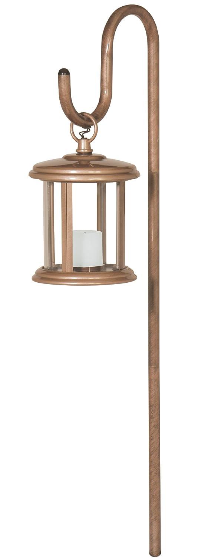 Manor House LV11040GI Flickering Low Voltage Yard Garden Light /& Shepherd/'s Hook