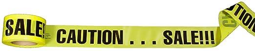 Sale Tape Caution...sale