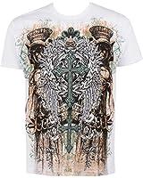 Sakkas T-Shirt Mode Hommes Jardin d'Eden Métallique en Relief