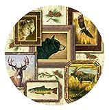 Thirstystone Stoneware Coaster Set, Wildlife