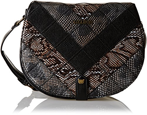 Lollipops Yatch 22253, Borsa a spalla donna , Nero (Black (nero)), Taille Unique