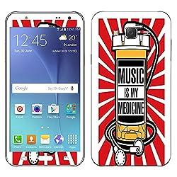 Theskinmantra Medicine Music Samsung Galaxy J7 mobile skin