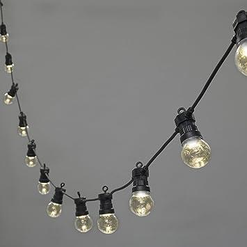 Rolson 24 DEL Dimmable Patio Lanterne Lumière Camping éclairage décoration maison NEUF