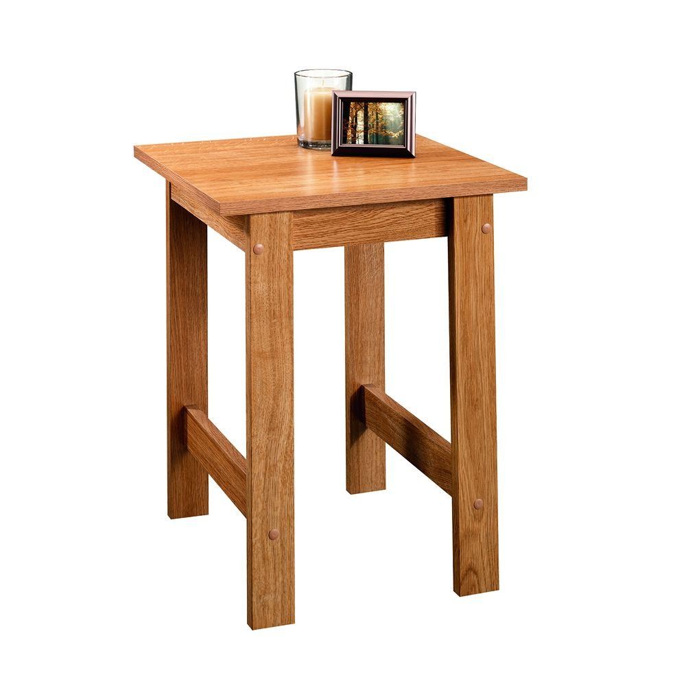 Wooden end table side living room furniture small bedroom for Small wooden side table