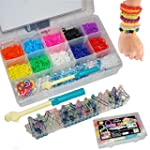 1600 Colourful Friendship Loom Bands Set