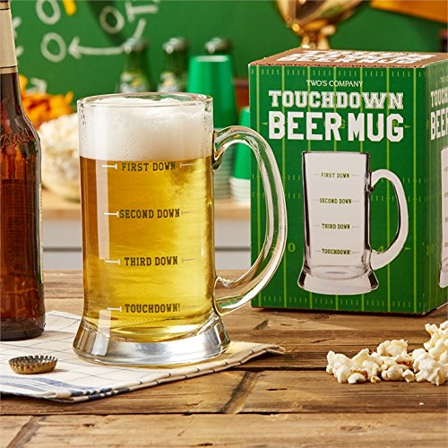 Two's Company Touchdown Beer Mug