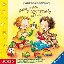 Meine ersten Fingerspiele und Lieder (Meine erste Kinderbibliothek) Hörbuch von Katja Senner Gesprochen von: Marion Elskis