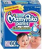 MamyPoko XL Size Pants (60 Count)