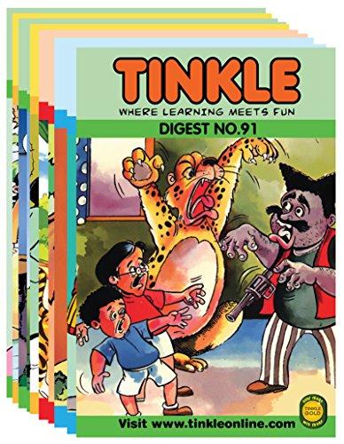 Tinkle Digest 10 in 1 (Vol - 91, 92, 93, 94, 95, 96, 97, 98, 99 & 100) Image
